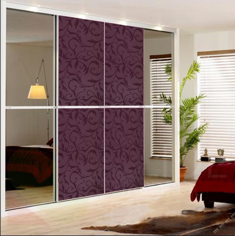 дизайн дверей для шкафов купе картинки контрастные цвета